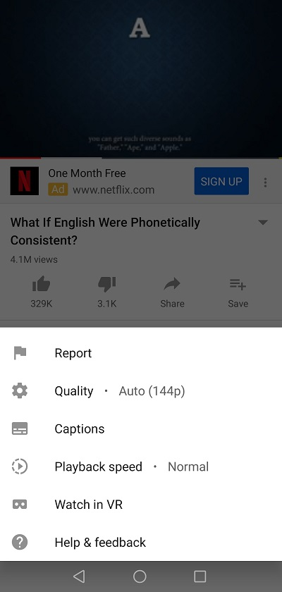 Report a Video Mobile App