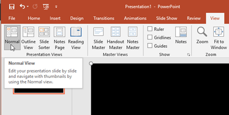 automatically play a video in powerpoint