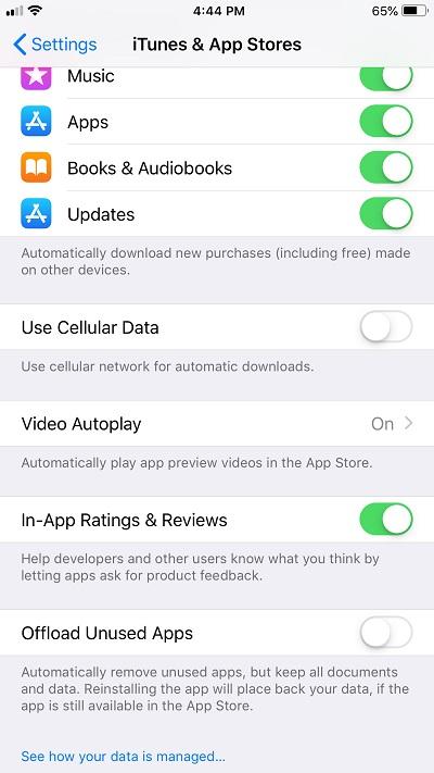 как увидеть недавно удаленные приложения iphone