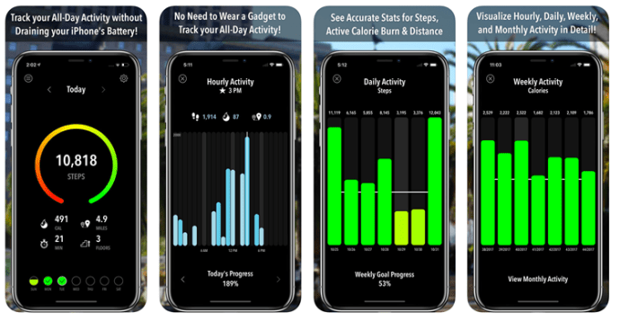 iphone best free pedometer apps