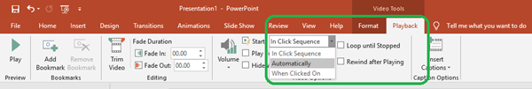 PowerPoint Autoplay
