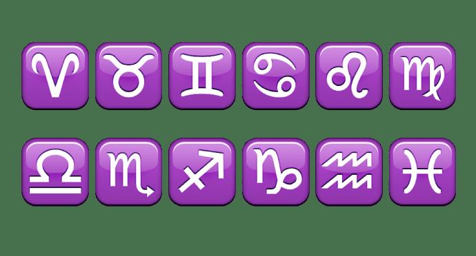 snapchat burç emojileri