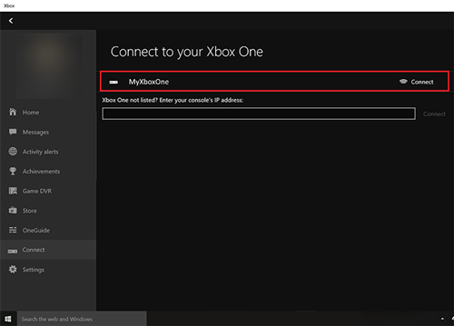 Connect My Xbox