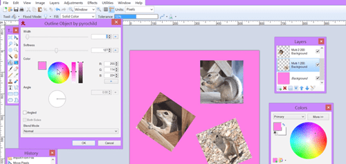 Make a Photo Collage in Paint