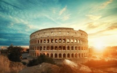 Rome caption