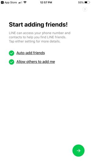 Start adding friends