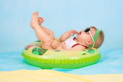 cool baby captions