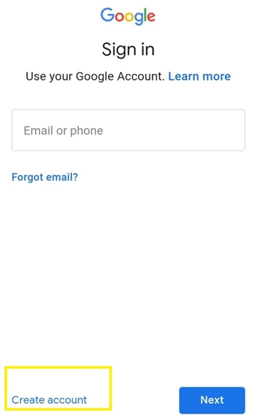 free email without phone number required