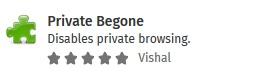 privatebegone