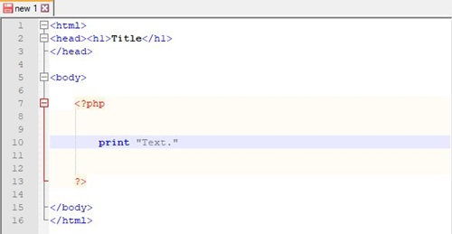 PHP File Example