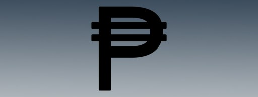 Peso Sign in Word