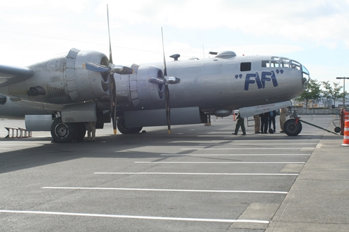 Old news about the flying museum