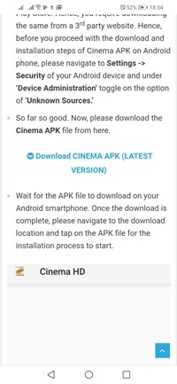 Download CInema APK