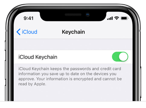 how to clear keychain