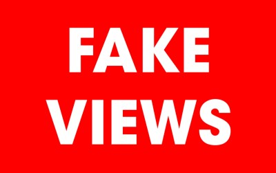 how to fake views on youtube
