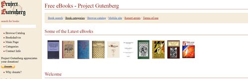 projectgutenberg