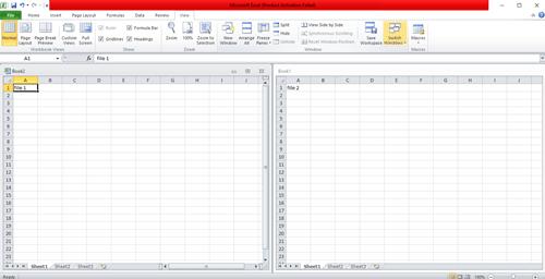 multiple file split