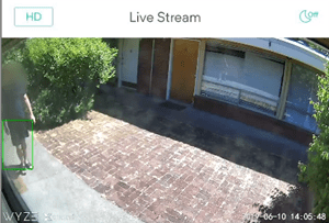 turn off sound detection on the wyze camera