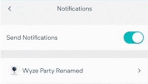 wyze cam not sending alerts