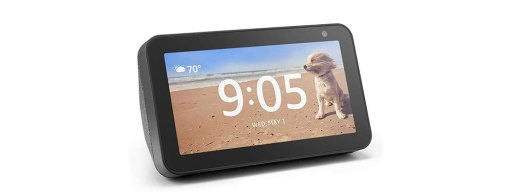 how to make echo show stay on clock