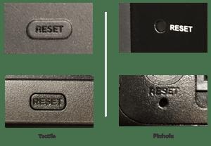 roku factory reset buttons