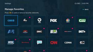 spectrum manage favorites