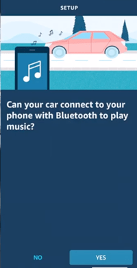 Connectez Echo Auto au Bluetooth de voiture