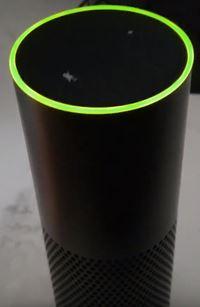 green light on your amazon echo