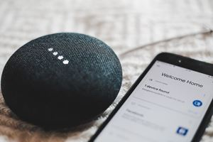 tell google home to play a playlist