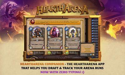 Connect Heartharena to Hearthstone
