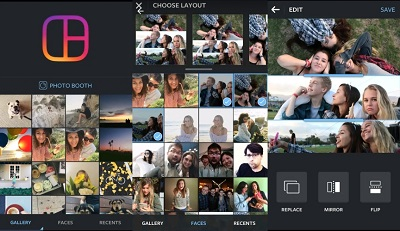 How to make a collage of multiple Instagram videos