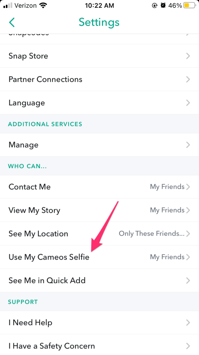 How to Change Cameo Selfie in Snapchat