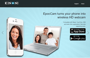 Use iPhone as a Webcam
