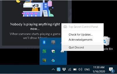 discord mic not detecting mic