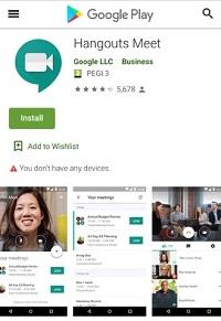 Google Hangouts vs. Meetings Meet Meetings