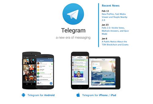 Лучшие альтернативы GroupMe - Telegram