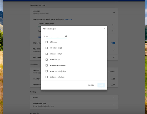 How to Change Keyboard Language on a Chromebook