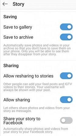 Instagram how to repost a story on story
