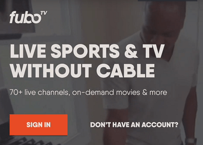 fubo tv logga in