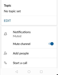 slack notifications snoozed