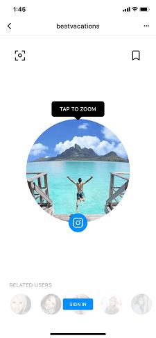 Как просмотреть оригинальные полноразмерные изображения Instagram и фотографии профиля - Qeek