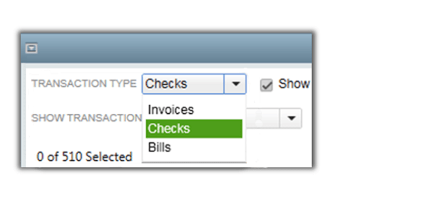 Instant books delete transactions