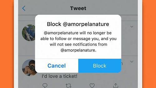 Twitter Delete listing