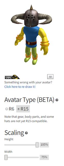 avatar scaling