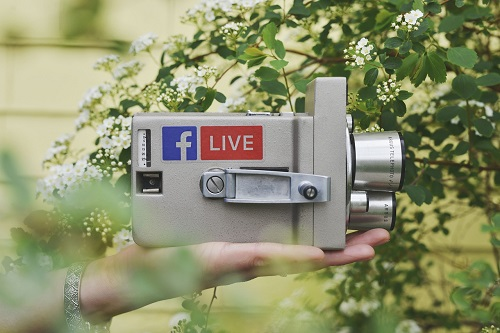 facebook live privately streamed
