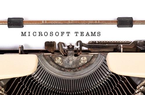 Microsoft teams build a team