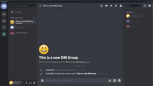 new dm group