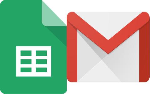 google sheets to Gmail