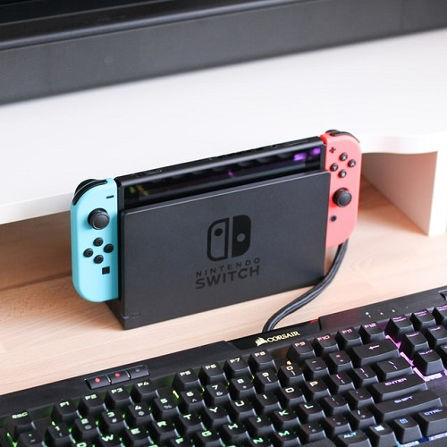 what is nintendo swith dock for