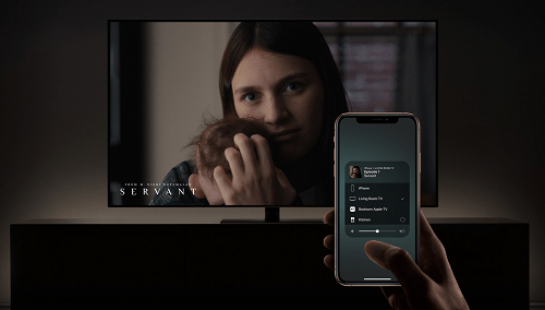 Mirror your iPhone with Sony Smart TV